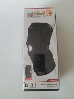 Shock Doctor Maximum Support Compression Knee Brace, Size: X
