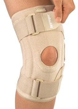 Mueller Sports Medicine Open Patella Knee Stabilizer, Beige,