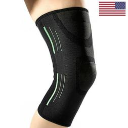 Men Women Knee Sleeve Compression Brace Support For Arthriti