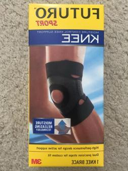 Futuro Sport Moisture Control Knee Support, Moderate Support