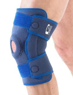 NEO G Stabilized Hinged Open Knee Support - Medical Grade Qu