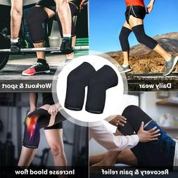 FDA APPROVED 1Pair Copper Knee Brace Support Elastic Sleeve