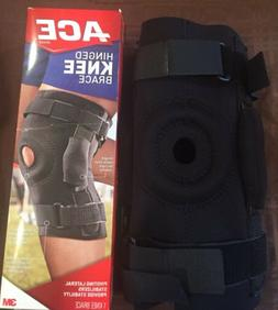 NEW In Box ACE Hinged Knee Brace. Firm Stabilizing Support A