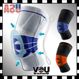New Knee Brace Compression Protection Spring Meniscus Suppor