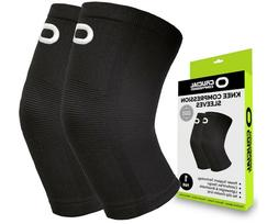 *NEW* Crucial Compression: Knee Brace Compression Sleeve, 1