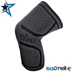 NEW! Knee Compression Sleeve for Men and Women by RiptGear®
