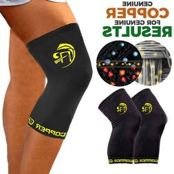 new knee recovery sleeve copper compression joint