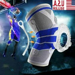 NEW Knee Sleeves Compression Brace Support For Sport Joint P