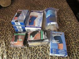 NEW- KNEE, THIGH, FOOT, ANKLE BRACES & SUPPORTS. TRU-FIT, AC