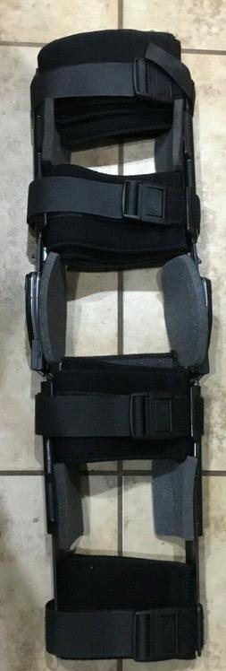 New DONJOY TROM KNEE BRACE; Total ROM, Dual Hinge/Adjustable