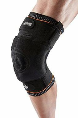 NEW Shock Doctor Ultra Knit Knee Brace W/Dual Wrap & Hinges