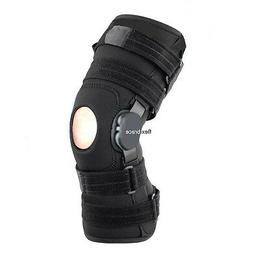 New Flexibrace Wrap Around Hinged Knee Brace Support Adjusta