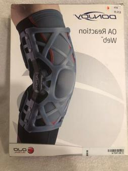 DONJOY - OA Reaction Web Knee Brace SIZE-L M0NI-M000