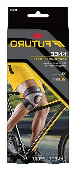 One Futuro Knee Performance Support  in 4 Sizes  = S ~ M ~ L