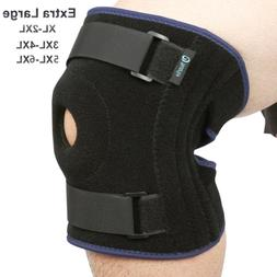 Nvorliy Plus Size Knee Brace 3XL 4XL Extra Large Open-Patell