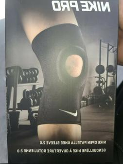 Nike Pro  2.0 Open Patella Knee Sleeve Support Brace Compres