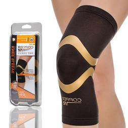Copper Fit Pro Series Performance Compression Knee Sleeve Br