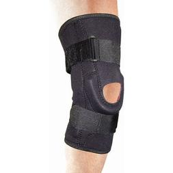Bell-Horn ProStyle Hinged Knee Brace, Black, Medium