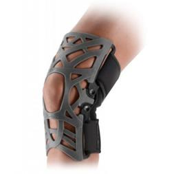 reaction web knee support brace with compression