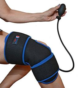 Reusable Ice Pack for Knee - Cold Therapy Compression Wrap w