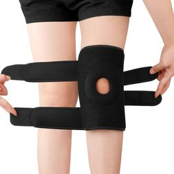 For Right Left Knee Brace Support Arthritis Pain Relief Spor