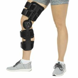 Vive ROM Knee Brace - Hinged Immobilizer for ACL, MCL  PCL I