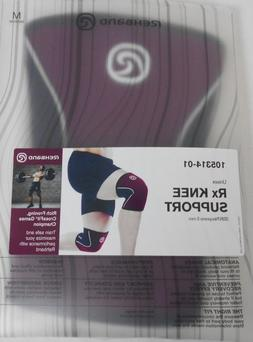 Rehband Rx Knee Support 105314-01 SBR/Neoprene 5 mm Med Burg