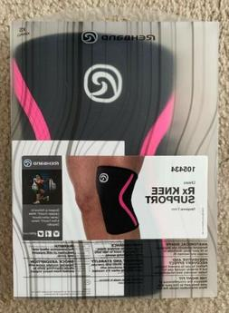 Rehband Rx Knee Support 105434 Neoprene 7 mm Black & Pink