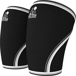 Knee Sleeves 1 Pair Support & Compression for the Best Squat