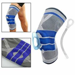 Silicone Spring Knee Brace Sport Support Strong Meniscus Com