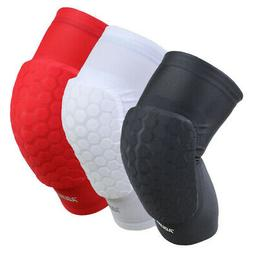 Sports Honeycomb Knee Support Sponge Pad Basketball Soccer P