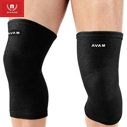 Mava Sports Knee Support Sleeves Joint Pain Relief Compressi