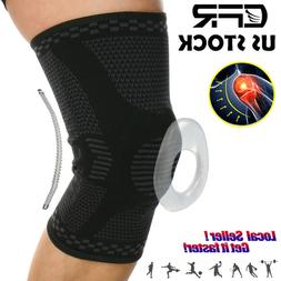SUPPORT Compression Knee Sleeve Pad – Best Knee Brace for