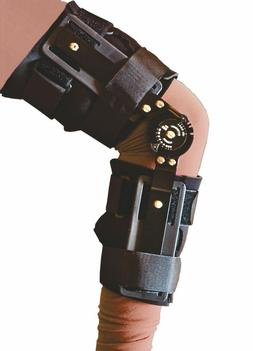 T-Scope ROM Post Op Knee Brace Adjustable Hinged Leg Univers