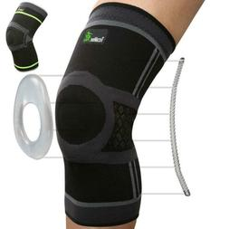 TechWare Pro Knee Compression Sleeve - Best Brace with Side