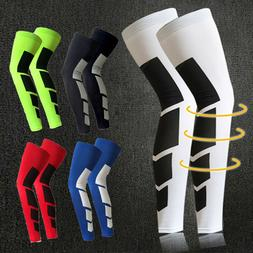 Youth Adult Leg Support Knee Sleeve Brace Sports Support Bas